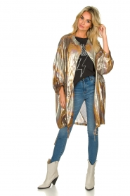 Rabens Saloner |  Metallic jacket Randy | metallic  | Picture 7