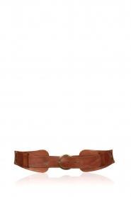 Rabens Saloner |  Waist belt Sille | brown  | Picture 1