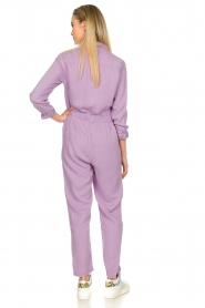 Set |  Jumpsuit with pockets Caris | purple   | Picture 6