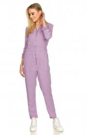 Set |  Jumpsuit with pockets Caris | purple   | Picture 4