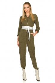 Set |  Jumpsuit with pockets Caris | grey  | Picture 3