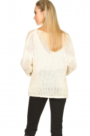 Set |  Chunky knitted sweater Liza | white  | Picture 6
