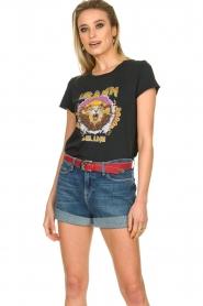 Set |  Printed T-shirt Lion | black  | Picture 2