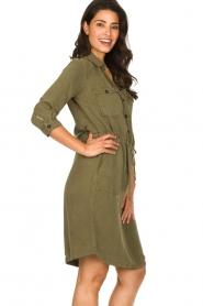 Set | Katoenen jurk Anna | groen  | Afbeelding 5