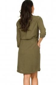 Set | Katoenen jurk Anna | groen  | Afbeelding 6