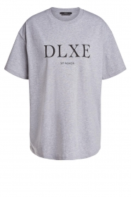Set |  T-shirt with printed text | grey