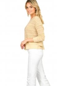 Set |  Ajour sweater Alice | naturel  | Picture 5