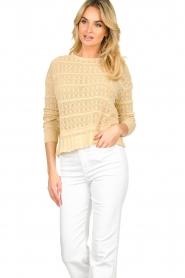 Set |  Ajour sweater Alice | naturel  | Picture 2