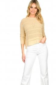 Set |  Ajour sweater Alice | naturel  | Picture 4
