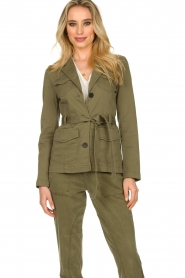 Set |  Safari coat Lola | green  | Picture 4