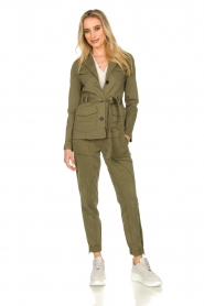 Set |  Safari coat Lola | green  | Picture 3