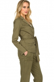 Set |  Safari coat Lola | green  | Picture 6