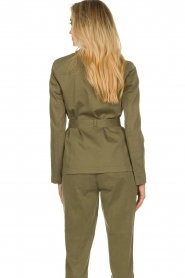 Set |  Safari coat Lola | green  | Picture 7