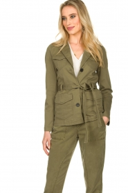 Set |  Safari coat Lola | green  | Picture 2