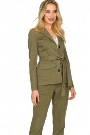 Set |  Safari coat Lola | green  | Picture 5