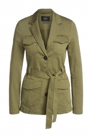 Set |  Safari coat Lola | green  | Picture 1