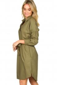 Set |  Poplin dress Alice | green  | Picture 4