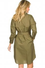 Set |  Poplin dress Alice | green  | Picture 5