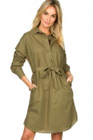 Set |  Poplin dress Alice | green  | Picture 2
