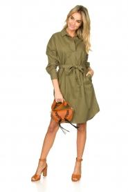 Set |  Poplin dress Alice | green  | Picture 3
