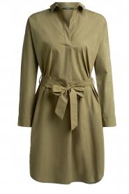 Set |  Poplin dress Alice | green  | Picture 1