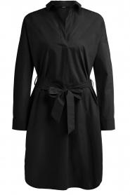 Set |  Poplin dress Alice | black  | Picture 1