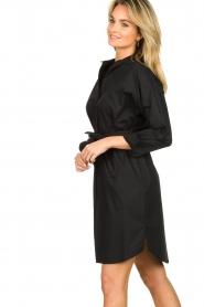 Set |  Poplin dress Alice | black  | Picture 4