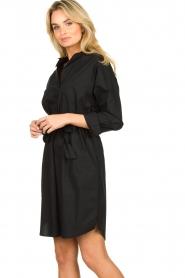 Set |  Poplin dress Alice | black  | Picture 3