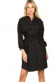 Set |  Poplin dress Alice | black  | Picture 2