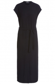 Set |  Maxi dress with belt Div | black  | Picture 1