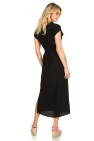 Set |  Maxi dress with belt Div | black  | Picture 5
