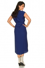 Set    Maxi dress with belt Div   blue    Picture 5