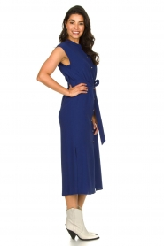Set    Maxi dress with belt Div   blue    Picture 4