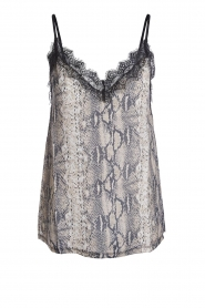 Set |  Snake printed top Bo | animal  | Picture 1