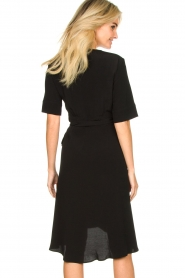 Set |  Wrap dress Lolo | black  | Picture 5