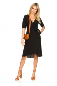 Set |  Wrap dress Lolo | black  | Picture 3