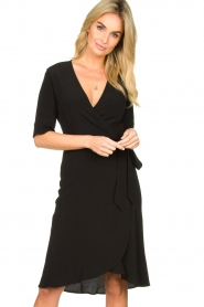 Set |  Wrap dress Lolo | black  | Picture 2