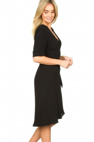 Set |  Wrap dress Lolo | black  | Picture 4