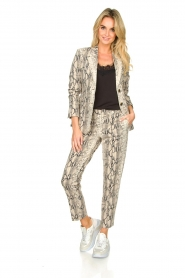 Set |  Snake printed blazer Mo | animal  | Picture 6