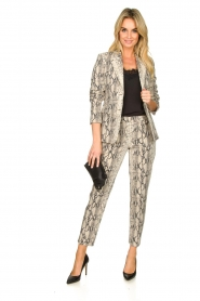 Set |  Snake printed blazer Mo | animal  | Picture 3