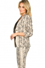 Set |  Snake printed blazer Mo | animal  | Picture 4