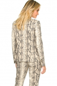 Set |  Snake printed blazer Mo | animal  | Picture 5