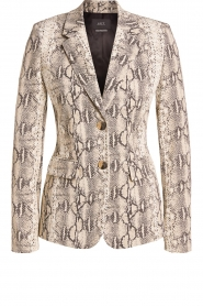 Set |  Snake printed blazer Mo | animal  | Picture 1