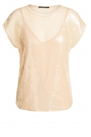 Set |  Top with sequins Wonder | natural  | Picture 1