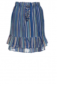 Set |  Skirt with lurex Jamilla | blue  | Picture 1