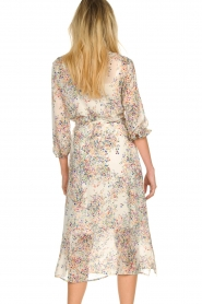 Set |  Floral printed dress Tyron | white  | Picture 7