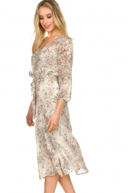Set |  Floral printed dress Tyron | white  | Picture 6