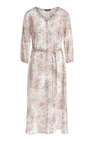 Set |  Floral printed dress Tyron | white  | Picture 1