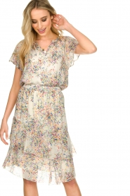 Set |  Skirt with floral print Marie | natural  | Picture 4