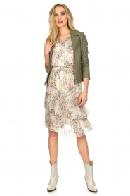 Set |  Skirt with floral print Marie | natural  | Picture 3